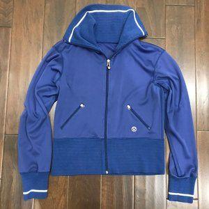 Lululemon Vintage Baseball Bomber Style Jacket
